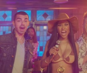 DNCE Kissing Strangers Music Video Nicki Minaj