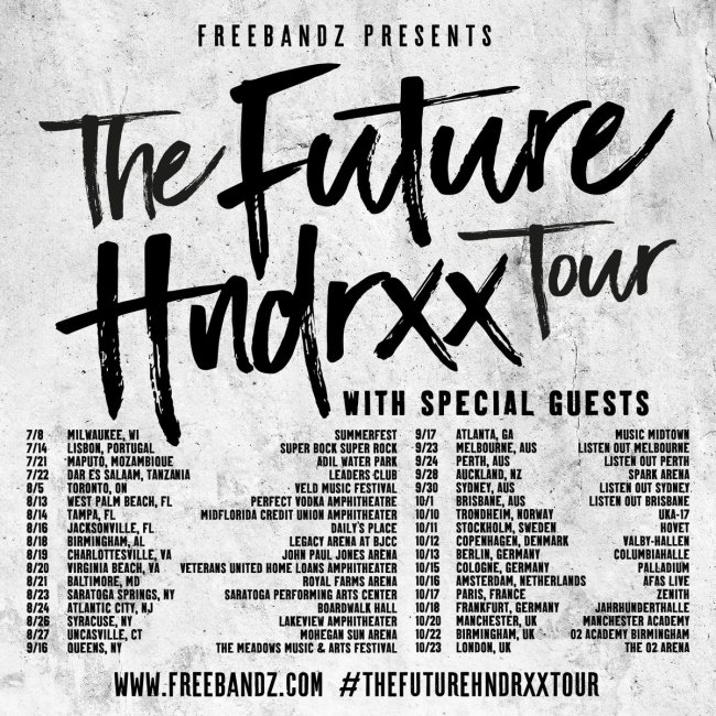 The Future Hndrxx Tour Dates