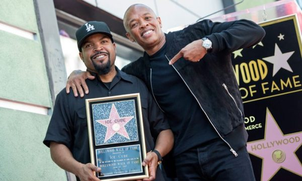 Ice Cube Gets A Star On The Hollywood Walk Of Fame