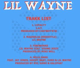 Lil Wayne New Project 2017