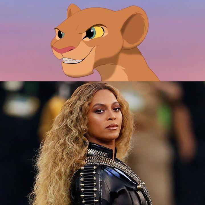 beyonce nala lion king