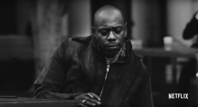 chappelle netflix new special