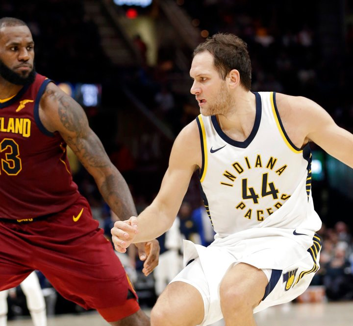 Bojan Bogdanovic Indiana Pacers NBA Power Rankings