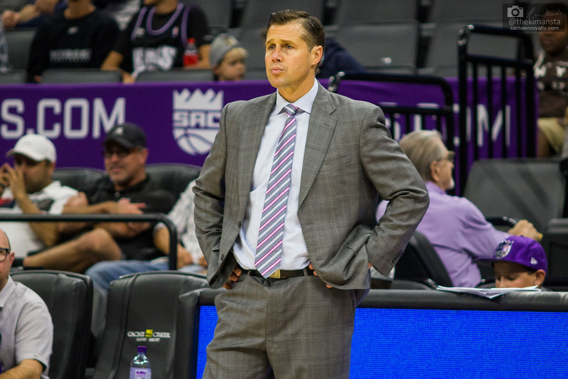 The Kings Are Reportedly Unhappy With David Joerger's Handling Of Marvin Bagley