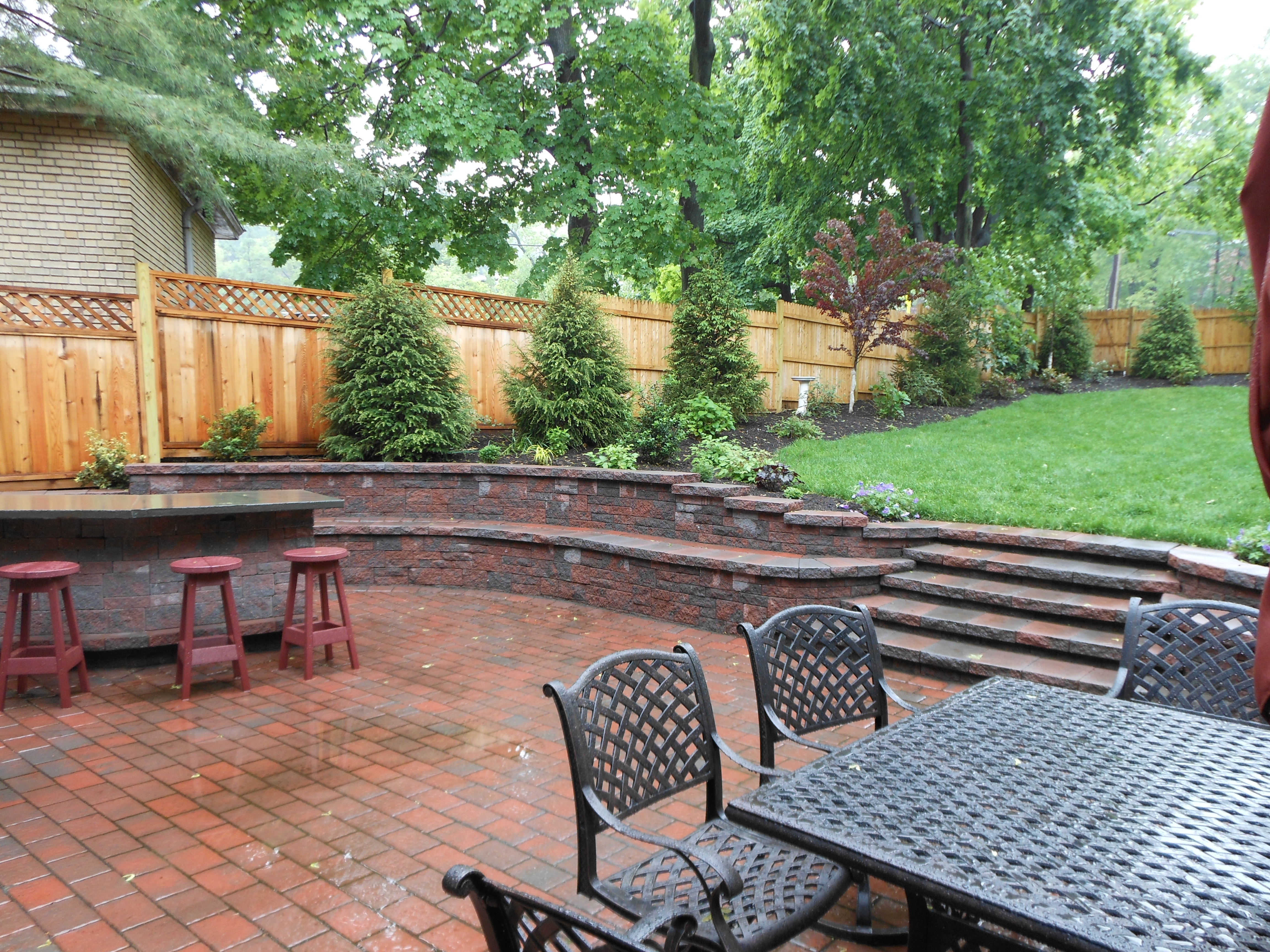 Beautiful Patio in Montclair with custom features