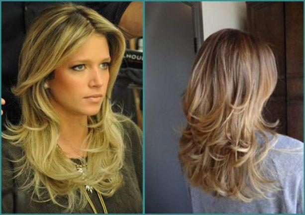 cortes de cabelo longo - long hairstyle - long haircut