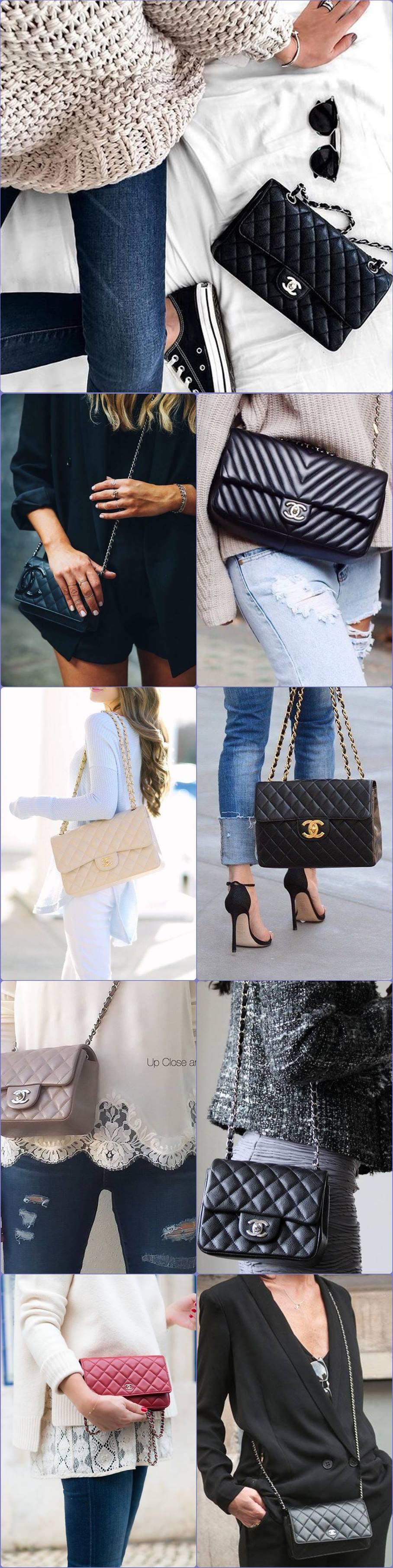 chanel bolsa pequena handbag