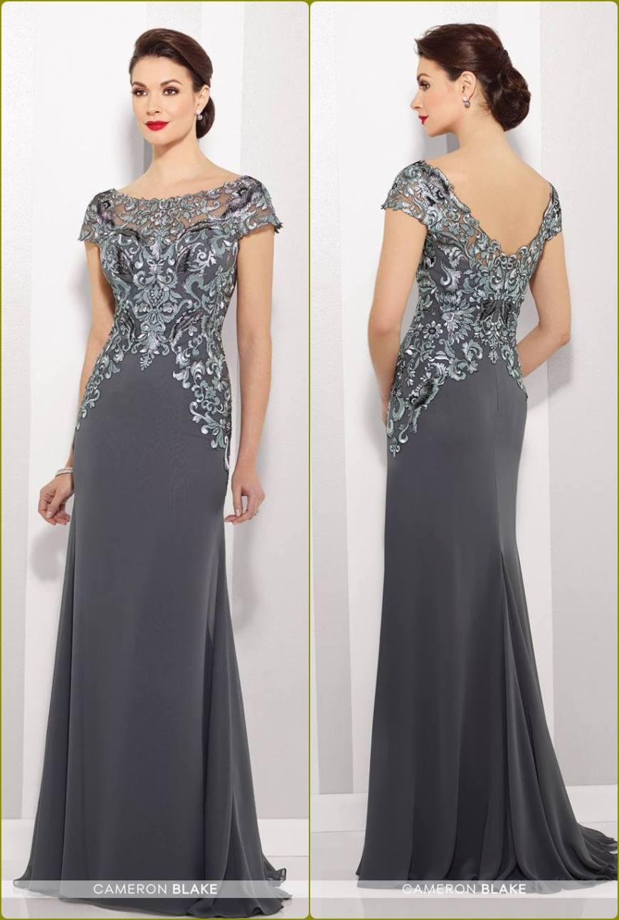 vestido para a mãe da noiva ou noivo - moda anti-idade - prata, silver