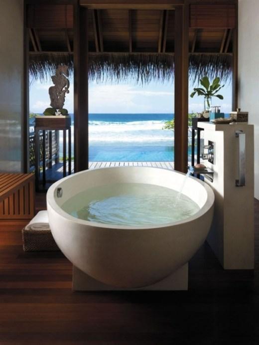 ofurô a banheira tradicional japonesa e seus benefícios