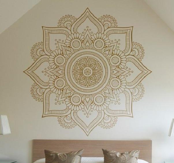Wandbemalung Schlafzimmer