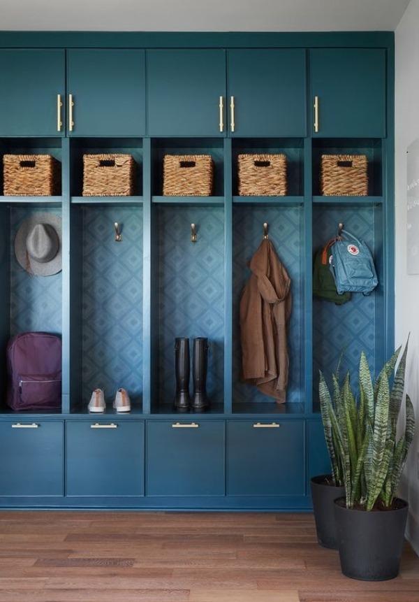Ideias de nicho ou closet no hall de entrada