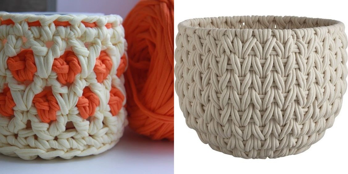 DIY: +18 idéias em crochê com fio de malha