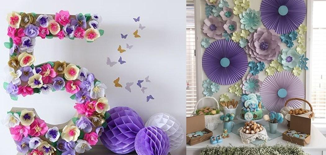 dicas de decoraç u00e3o com flores gigantes de papel De Frente Para O Mar -> Decoração De Flores De Papel Para Aniversario
