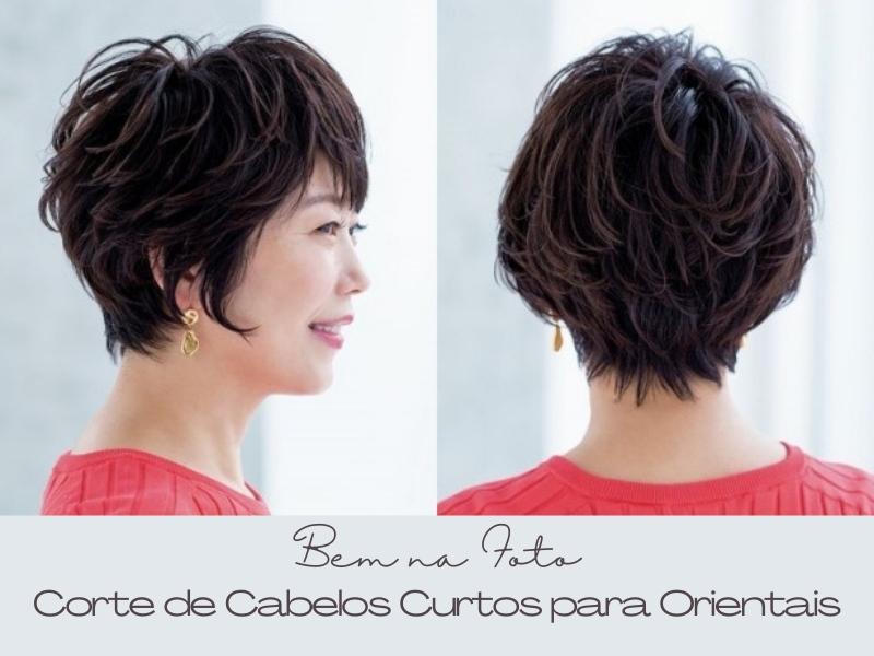 15 Cortes de cabelos curtos para orientais