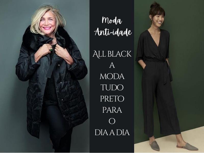 Moda All Black A Moda Tudo Preto para o Dia a Dia