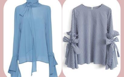 blusas que fazem sucesso, blusa manga flare , blusa de seda, silk blouse, moda anti-idade