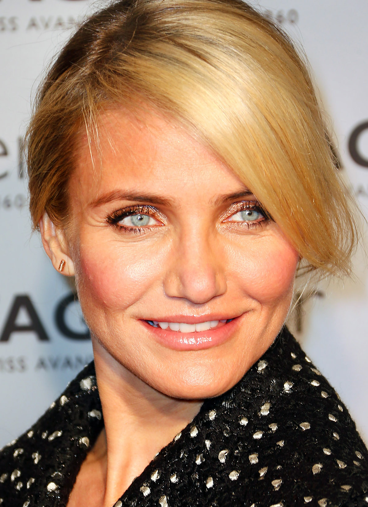 Frisuren 2015 Schulterlang Rundes Gesicht Cameron Diaz At The Tag Heuer Fifth Avenue Flagship Store