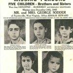 Reward Poster Sodder Children
