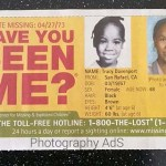 Tracy Lynn Davenport missing child ad, Photography AdS