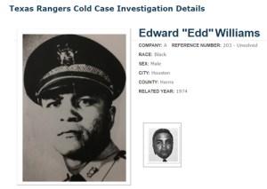 """Harris County Deputy Edward """"Edd""""Williams"""
