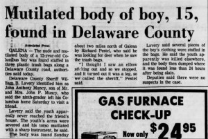 John Muncy Akron Beacon Journal Oct 17 1983 TS