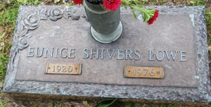 Eunice Shrivers Lowe/Find-a-Grave Prissy53
