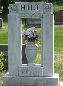 Grave Teresa Sue Hilt