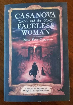 book cover Casanova and the Faceless Woman