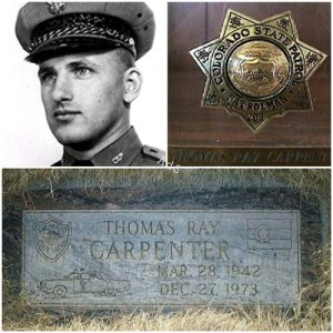 Colorado State Patrolman Thomas Ray Carpenter Grid AdS