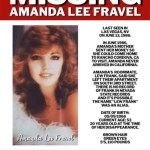 Amanda Lee Fravel Missing Poster