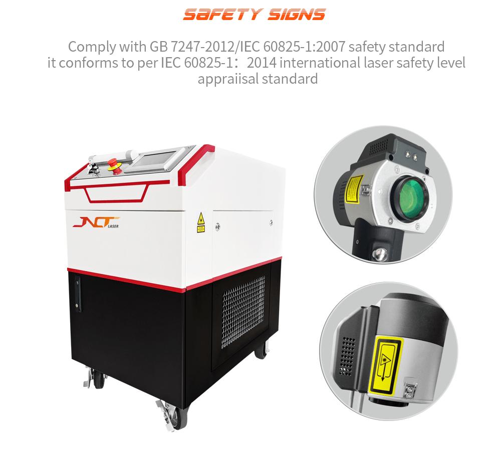 300w-500w Laser Cleaning Machine from Deftmark Laser