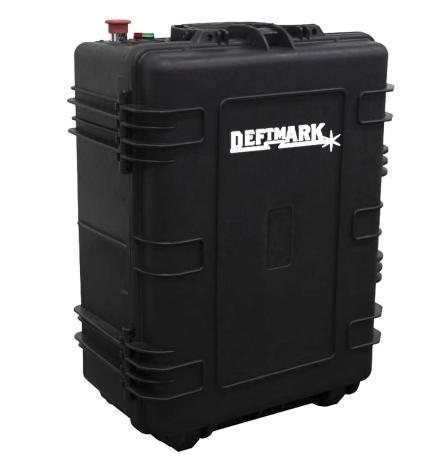 Deftmark™ 100w Portable Laser Cleaning Machine