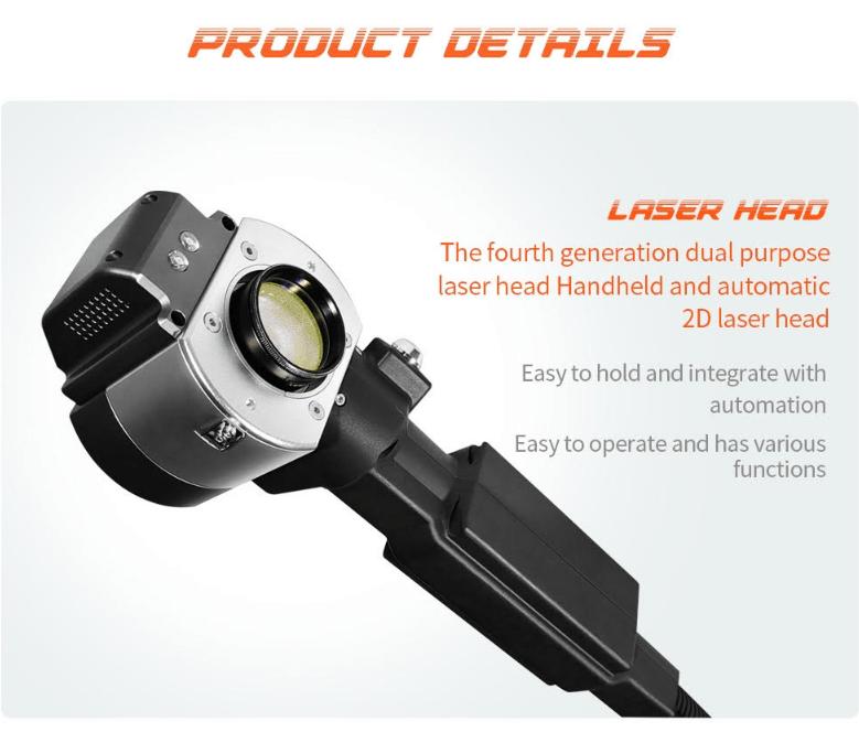 Deftmark™ 200w Portable Laser Cleaning Machine