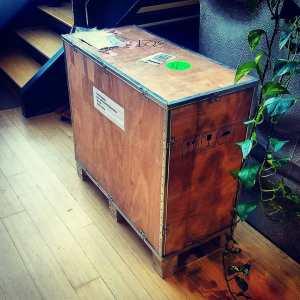 Deftmark Laser Shipping Crate