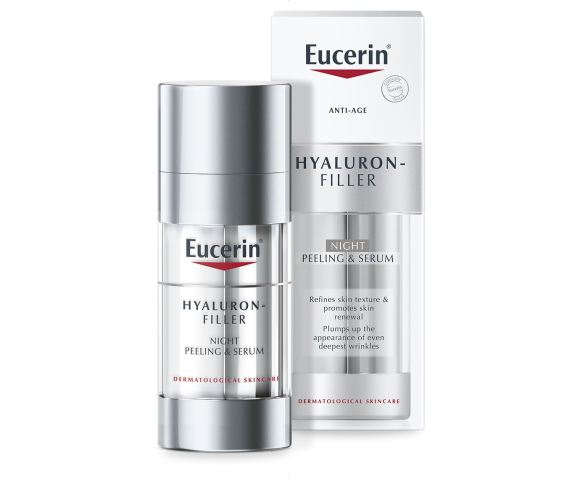 Eucerin Hyaluron Filler Night Peeling Serum