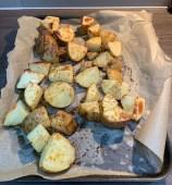roast potatoes with sausage casserole