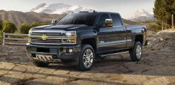 A slightly larger front chrome bumper and triangular fog lights provide more protection and reflection for the redesigned Silverado. In addition, the taillights are sharper and more visible for unlit roads and paths. Chevy is offering more colors to provide more options for potential customers. A modern heating and cooling system is a much-needed upgrade to the interior climate of the Silverado, and drivers will find the dashboard easier to use with its large, color touchscreen. This technology will make it even easier to harness and use the 397 horsepower from the V8 engine and eight-speed automatic transmission.