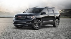 "The jack-of-all-trades Acadia is ready to tackle the trails—and carpool lanes—with plenty of storage and room for up to seven. Touchscreen infotainment with Apple CarPlay, Android Auto, 4G LTE connectivity, and mobile Wi-Fi is available. A 194-hp 2.5-liter four or a 310-hp 3.3-liter V-6 drive the front wheels through a six-speed automatic transmission; all-wheel drive is optional. Extras like automatic emergency braking and a novel ""rear-seat reminder"" boost the Acadia's safety street cred."