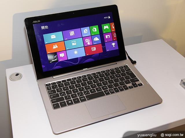 Win8.1變形筆電ASUS T100發表 T300,Trio售價公布- SOGI手機王