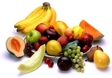 voeding fruit vrij
