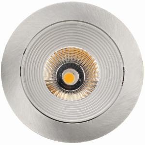 LED Spot HD 702 Mat Aluminium 2700K