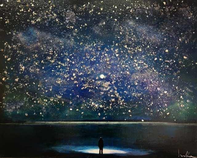 deGranero cursos pintura dibujo Madrid cielo estrellado