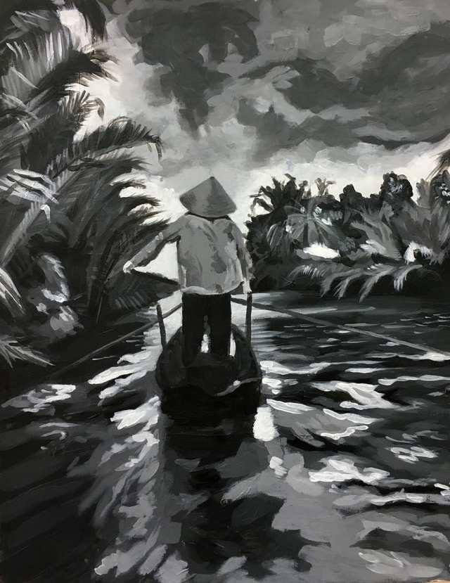 deGranero clases pintura Madrid, acrílico