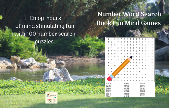 8.5 by 11 128 Number Word Search Book Fun Mind Games(1)