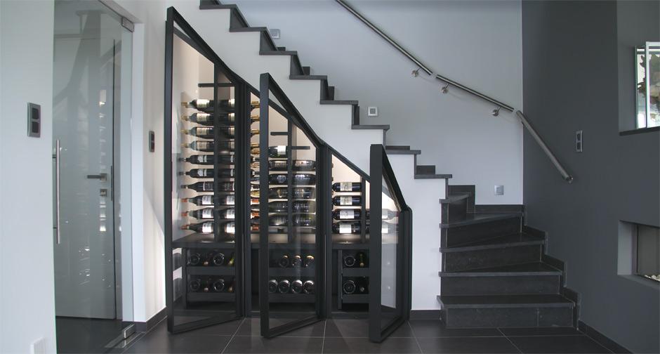 Bespoke Wine Cabinet Sliding Amp Gravity Tervuren 2016
