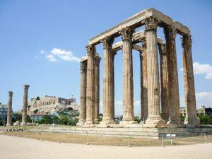 Greece temple