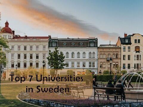Top 7 Universities in Sweden