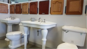 Sink, Faucet, and Toilet Displays