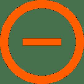 minus symbol