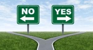 Yes-No: keuze maken